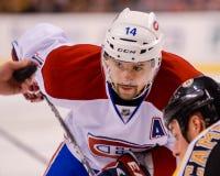 Tomas Plekanec Montreal Canadiens Lizenzfreies Stockfoto