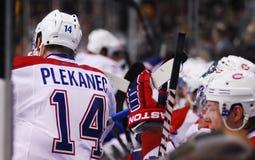 Tomas Plekanec Montreal Canadiens Fotografia Stock