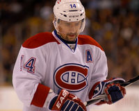 Tomas Plekanec. Montreal Canadiens forward Tomas Plekanec Royalty Free Stock Images