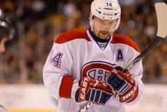Tomas Plekanec Montreal Canadiens Stock Image