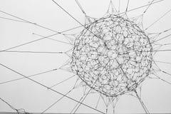 Tomas Saraceno ` s rzeźba Zdjęcie Royalty Free