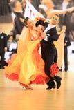 Tomas Smutny e Jana Sigutova - dancing Fotografia Stock