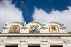 Tomas Terry-theater, Cienfuegos, Cuba Stock Afbeelding