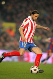 Tomas Ujfalusi of Atletico Madrid Royalty Free Stock Images