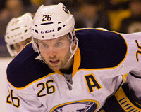Tomas Vanek Buffalo Sabres. Buffalo Sabres forward Tomas Vanek #26 Stock Photo