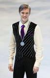 Tomas VERNER (CZE) wint zilver Royalty-vrije Stock Afbeeldingen