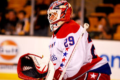 Tomas Vokoun Washington Capitals. Washington Capitals goalie Tomas Vokoun #29 Royalty Free Stock Image