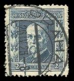 Tomash Garrigue Masaryk总统 库存照片