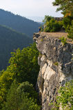 Tomasovsky Vyhlad viewpoint in Slovak Paradise Royalty Free Stock Photo