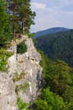 Tomasovsky Vyhlad viewpoint in Slovak Paradise Stock Photography