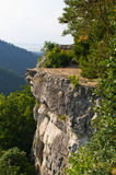 Tomasovsky Vyhlad viewpoint in Slovak Paradise Stock Photo