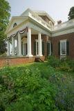 Tomasowski Jefferson Monticello fotografia stock