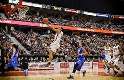 Mężczyzna koszykówki CIS finały obrazy royalty free