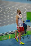 Tomasz Majewski, a Polish shot putter Stock Photos