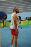 Tomasz Majewski, a Polish shot putter Royalty Free Stock Image