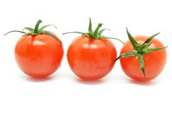 tomat för Cherryred Fotografering för Bildbyråer