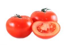 Tomat isolato rosso Fotografia Stock Libera da Diritti