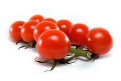 Tomat på white Arkivbilder
