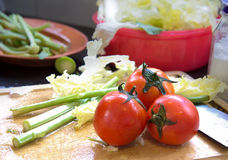 Tomat tre Arkivbild