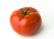 Tomate auf Weiß Stockfotos