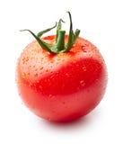 Tomate avec des gouttes de l'eau Images stock
