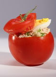 Tomate bourrée Photo libre de droits