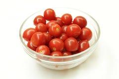 Tomate-cerise fraîche Photos stock