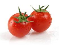 Tomate-cerise fraîche photo stock