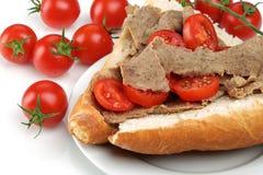 Tomate-cerise fraîche images stock