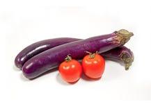 tomate chinoise d'aubergine Photographie stock libre de droits