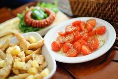 Tomate d'apéritif Photographie stock libre de droits