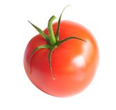 Tomate d'isolement photo stock