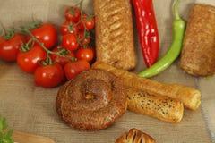 Tomate da mistura do café da manhã Imagem de Stock Royalty Free