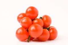 Tomate de cereja foto de stock royalty free