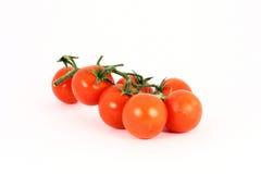 Tomate de cereja Fotografia de Stock Royalty Free