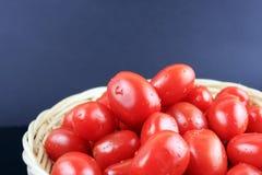 Tomate de cereja Imagem de Stock Royalty Free