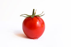 Tomate de cereja vermelho Imagens de Stock Royalty Free