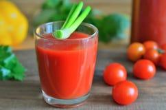 tomate de jus Photo libre de droits