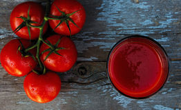 tomate de jus Image stock