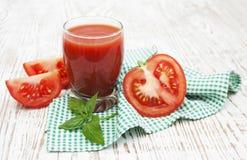tomate de jus image libre de droits