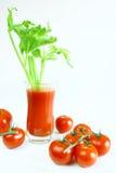 tomate de jus Photos stock