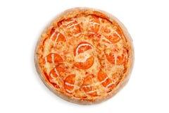 Tomate de la pizza de Margherita Fotografía de archivo