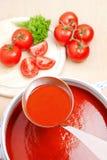 tomate de potage Photographie stock