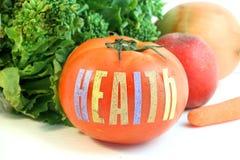 Tomate de santé Photos stock
