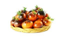 Tomate del negro de la rosa del añil del tomate Imágenes de archivo libres de regalías
