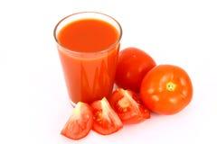 Tomate do suco Imagem de Stock Royalty Free