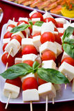 Tomate e queijo imagens de stock royalty free