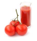 Tomate e suco Fotos de Stock