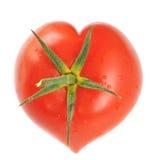 Tomate en forme de coeur Image libre de droits