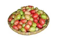 Tomate en vrac avec le fond blanc Photographie stock libre de droits